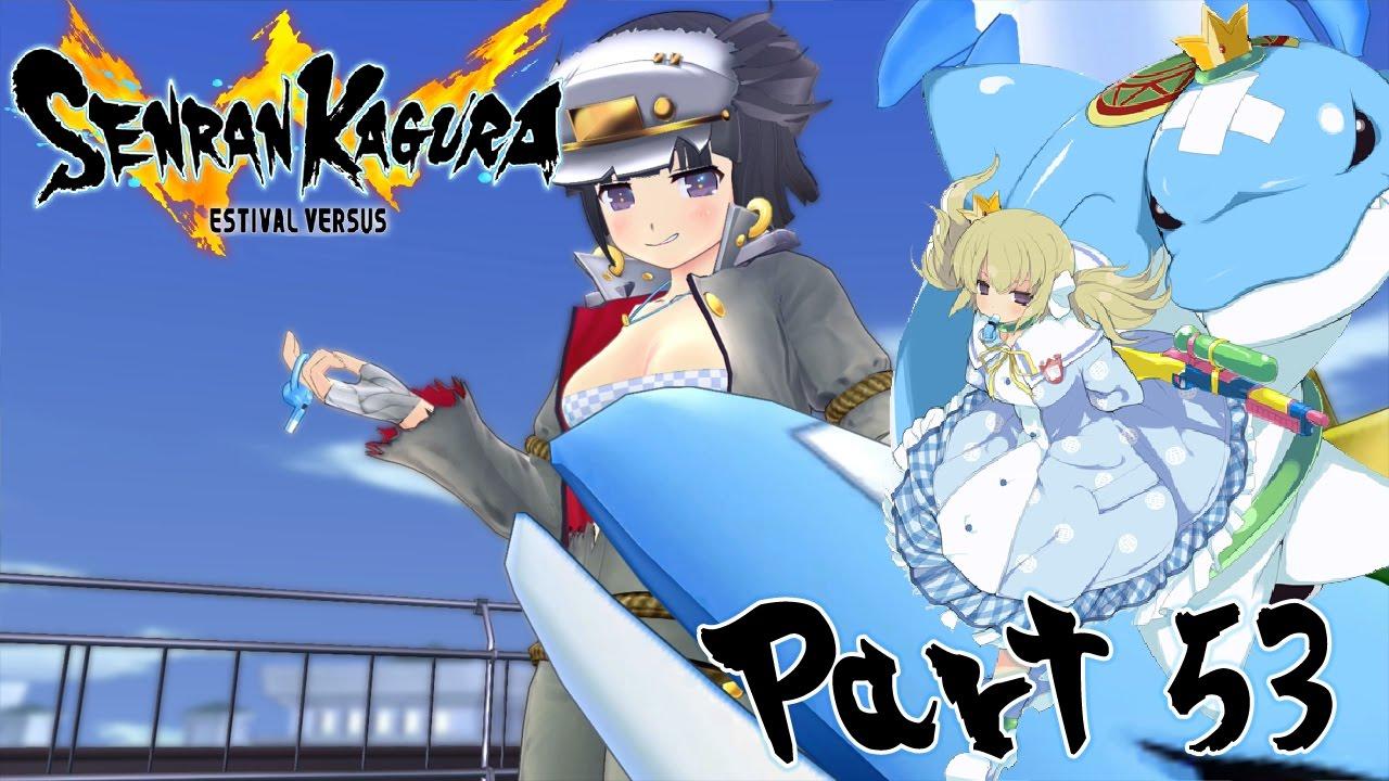 Let's Play Senran Kagura: Estival Versus – Part 53 [Kafuru Shinobi Girl's Heart]