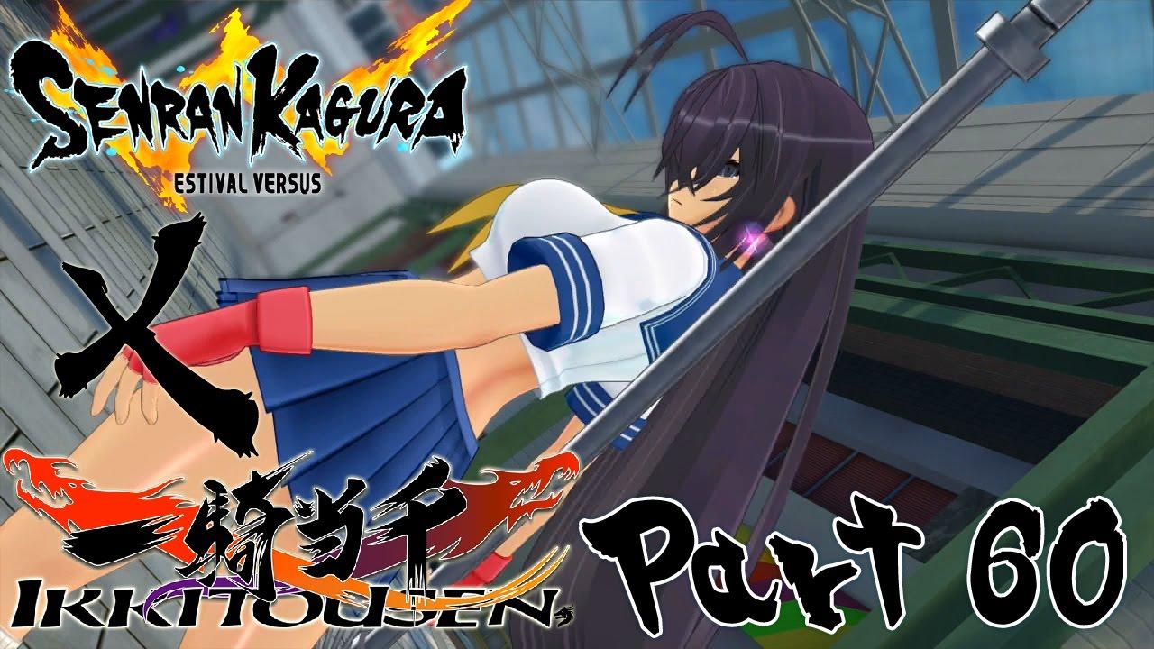 Let's Play Senran Kagura: Estival Versus – Part 60 [Ikki Tousen DLC]