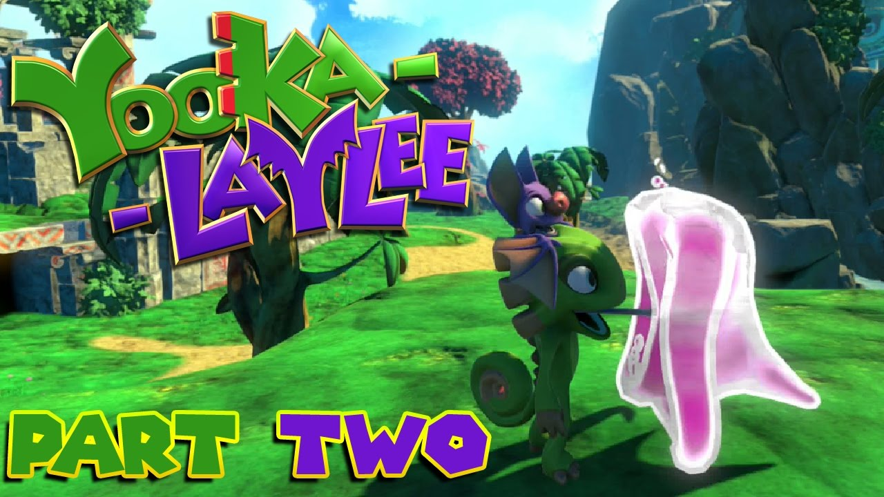 Let's Play Yooka-Laylee – Part 2 – The Collectathon Commences