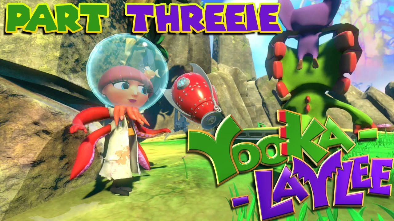 Let's Play Yooka-Laylee – Part 3 – Toppling The Tropics
