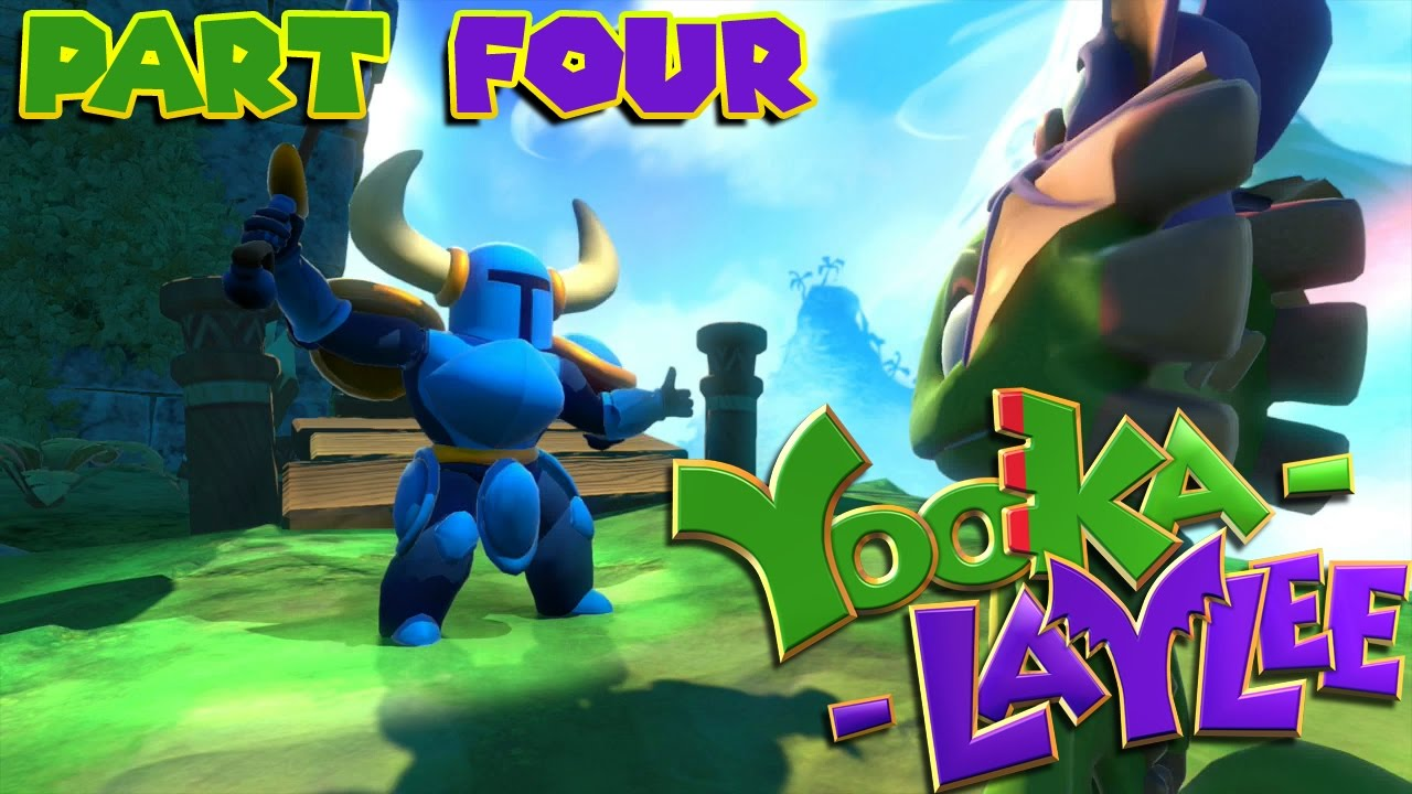 Let's Play Yooka-Laylee – Part 4 – STRIKE THE EARTH
