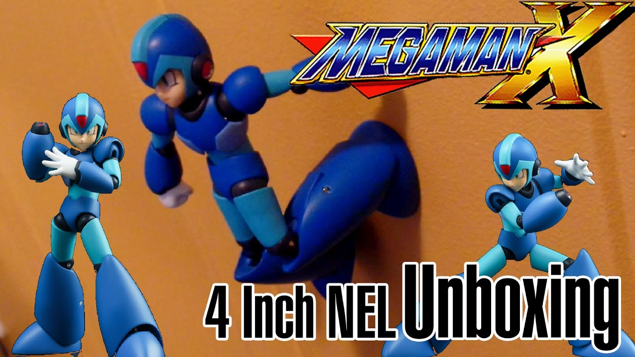 Let's Unbox Mega Man X 4-Inch NEL Figure!