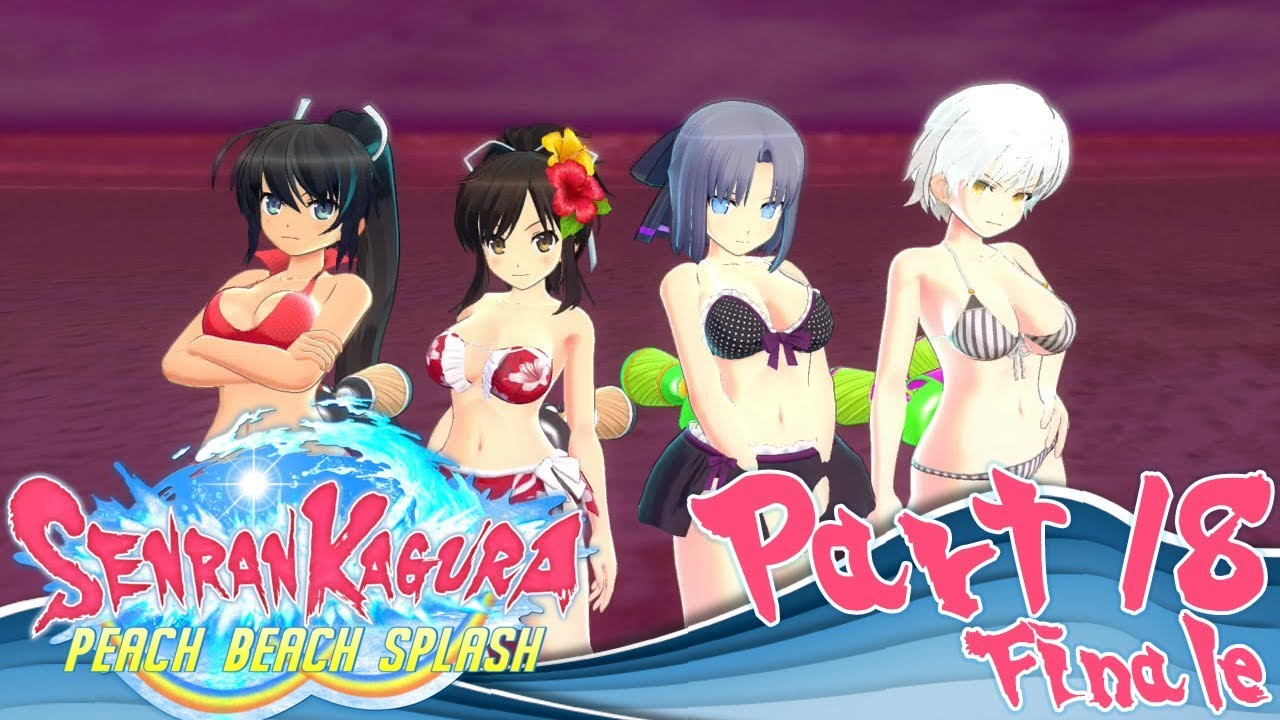 Let's Play Senran Kagura: Peach Beach Splash – Part 18 [Finale]