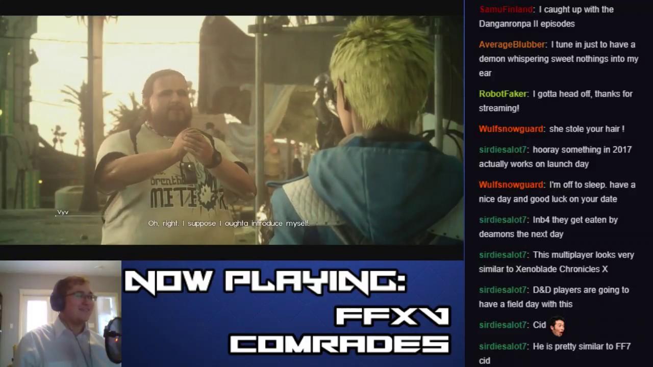 Let's Stream Final Fantasy XV: Comrades (Part 6 – Descent into Darkness)