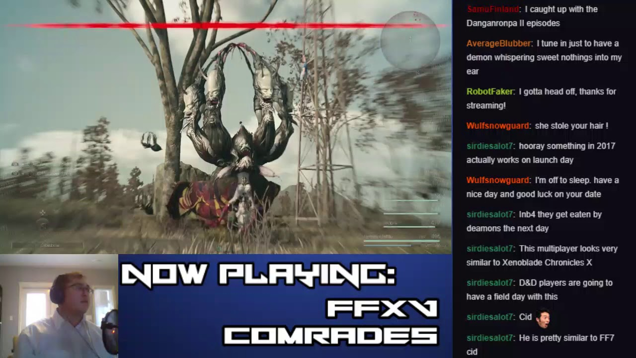 Let's Stream Final Fantasy XV: Comrades (Part 7 – A Tangled Web They Weave)
