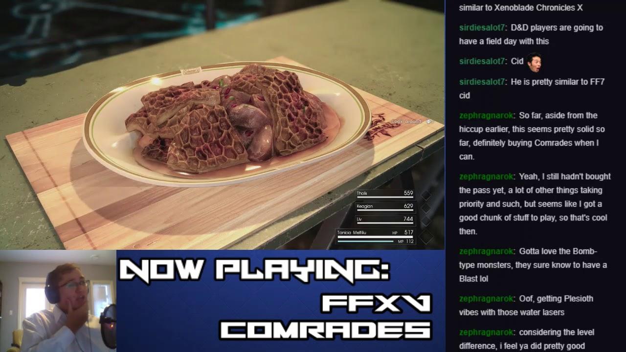 Let's Stream Final Fantasy XV: Comrades (Part 9 – Urgent: Karlobos)