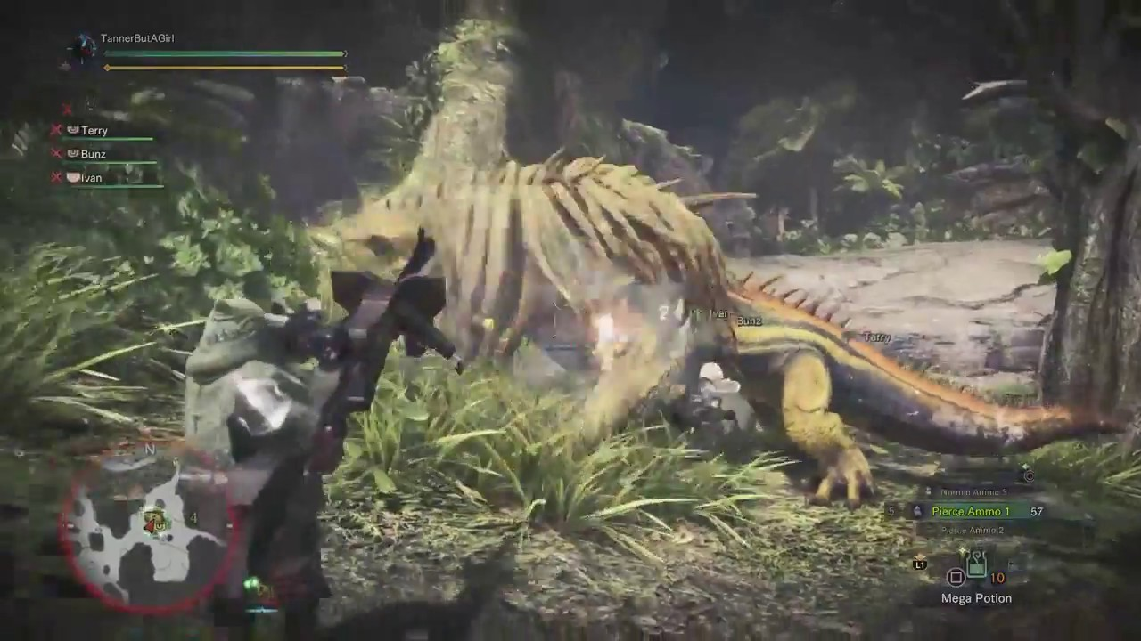 Let's Stream Monster Hunter World Beta – Part 1 [Hunting Great Jagras]