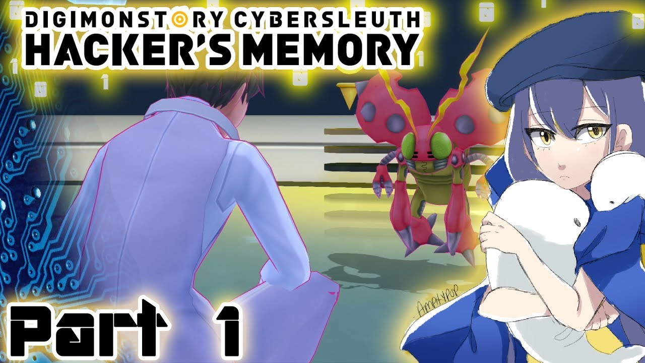Let's Play Digimon Story: Cyber Sleuth – Hacker's Memory – Part 1