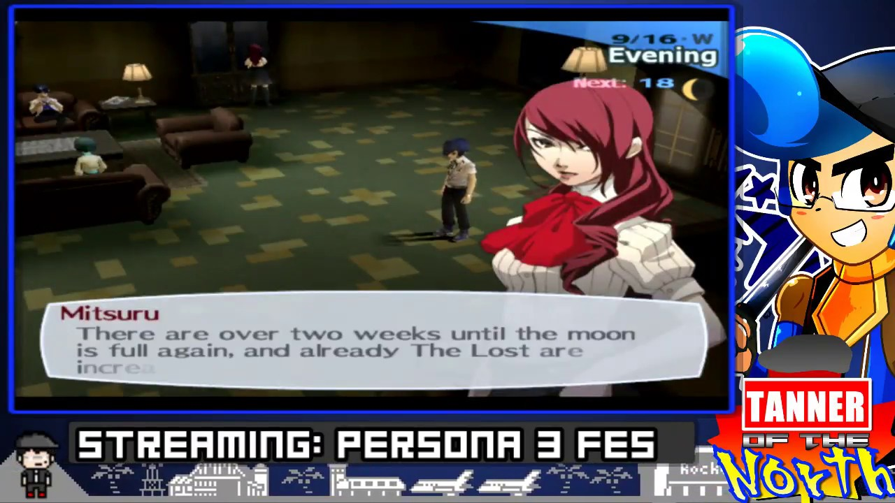 Let's Stream Persona 3 – Finishing Stream (Part 5)