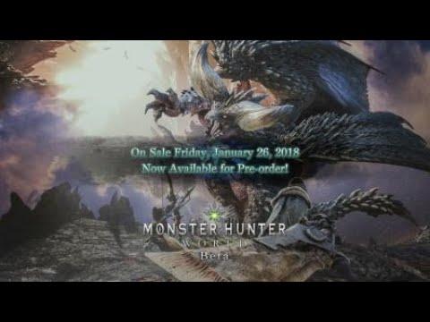 Monster Hunter: World Beta – Defeating Nergigante (Hunting Horn)
