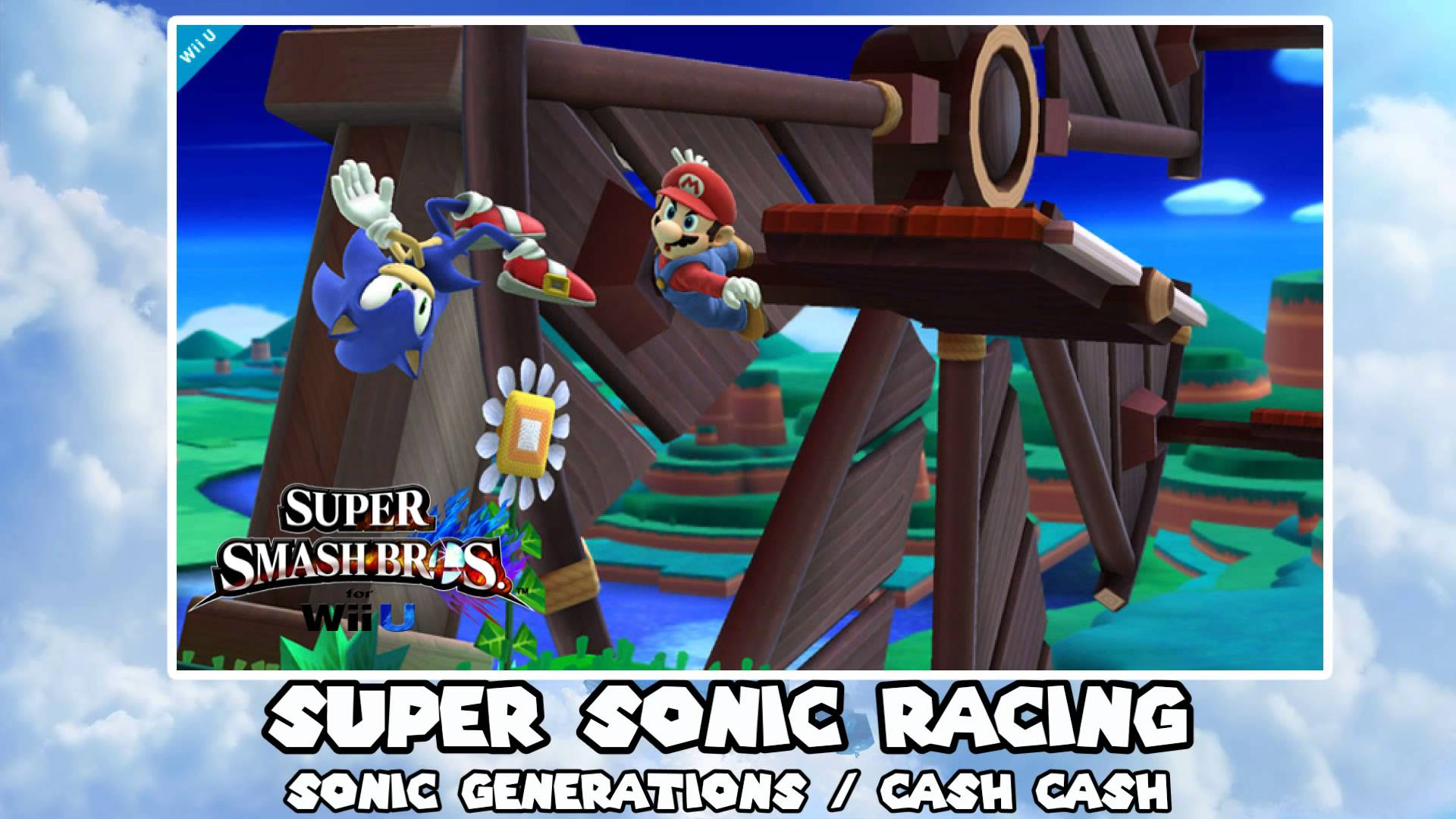 Music to Smash to – Day 24 – Super Sonic Racing (Sonic