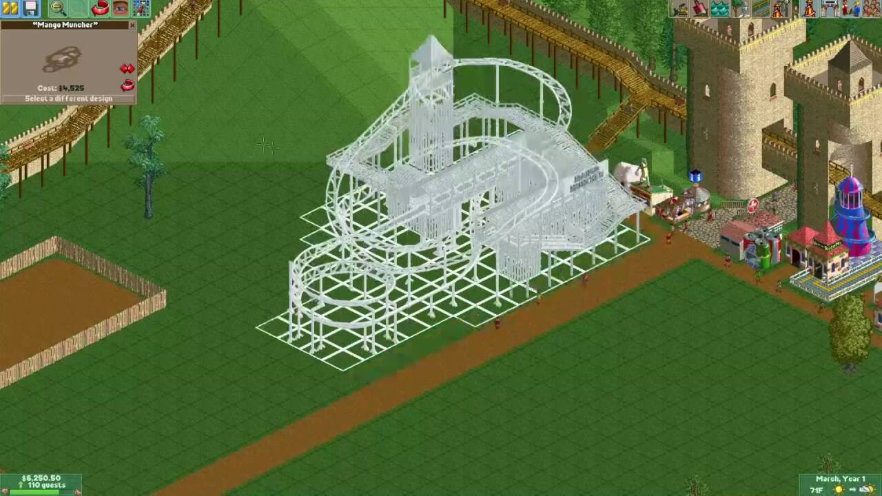 Let's Play Roller Coaster Tycoon 2 – Crazy Castle Part 1