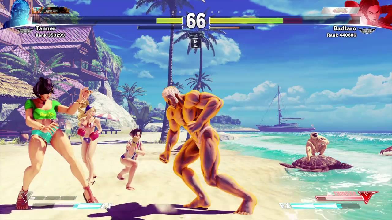 STREET FIGHTER V Online – Papa Smurf Vs Laura (Badtaro